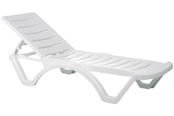 Set van 10 ligstoelen Aqua