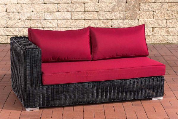 2er Seitenelement Rechts Ariano 150 Rubinrot schwarz