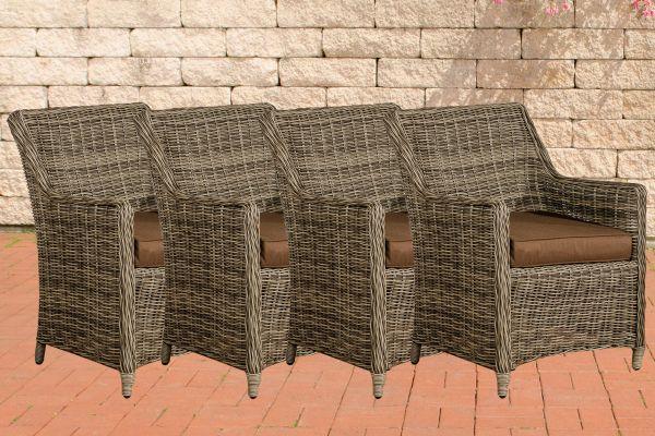 Set van 4 fauteuils Sandnes