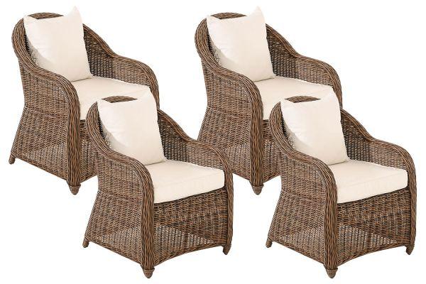 Set van 4 fauteuils van Stavanger