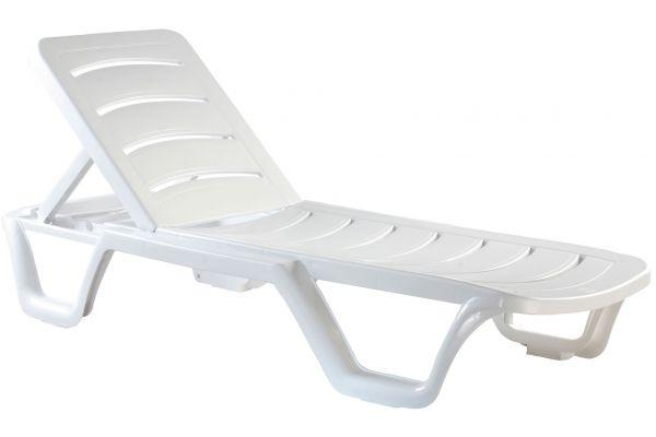 Set van 4 ligstoelen Bahama