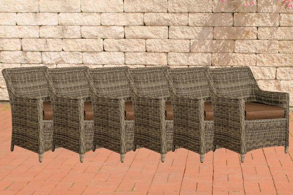 Set van 6 fauteuils Sandnes