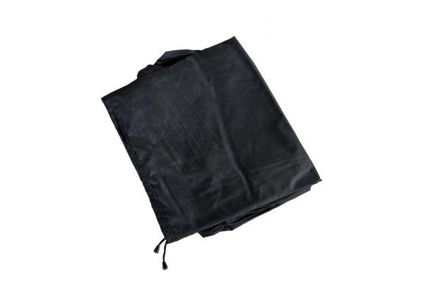 Abdeckhaube 138x88x74, Luxus Auflagenbox XL schwarz
