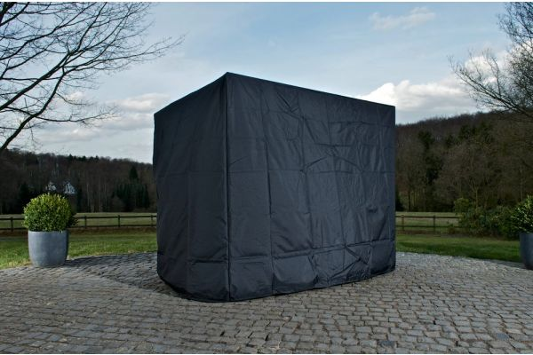 Abdeckhaube 220x150x180 schwarz