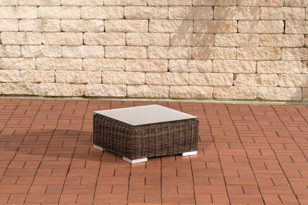 Beistelltisch Ariano 56x56 cm braun-meliert