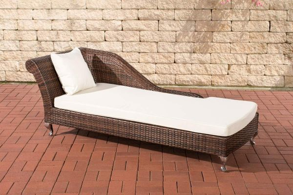 Chaiselongue Savannah 1,25 mm Poly-rotan