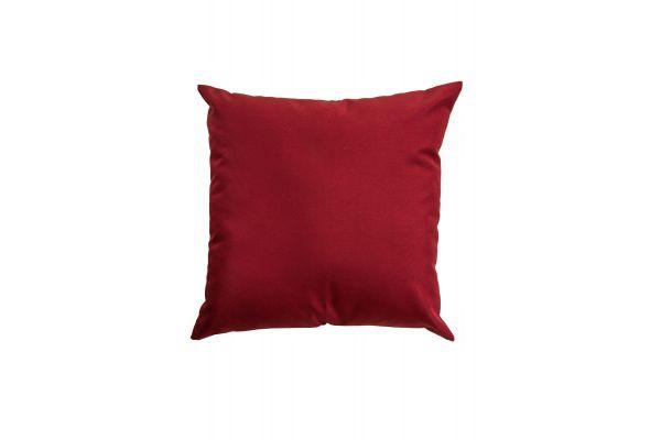 Deko-Kissen 45x45 cm rubinrot