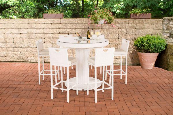 Gartenbar Mari XL weiß