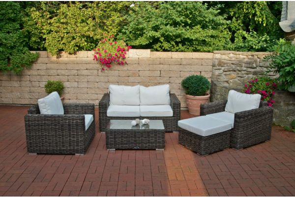 Wicker Loungeset BILBAO