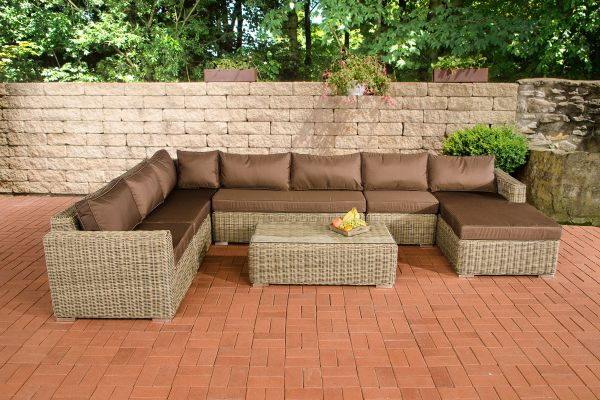 Wicker Loungebank TESSERA