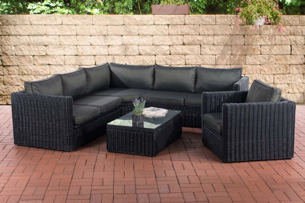 Hoek Loungeset TIBERA 5mm