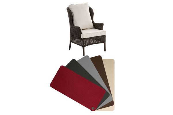 Kussenhoes fauteuil Jardin