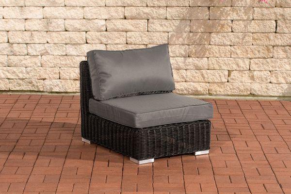 Mittelelement Ariano 63x84cm Eisengrau schwarz