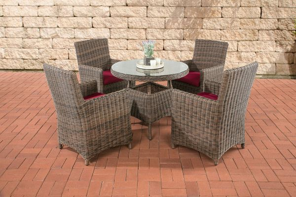 Tuinset Wicker CASOLI