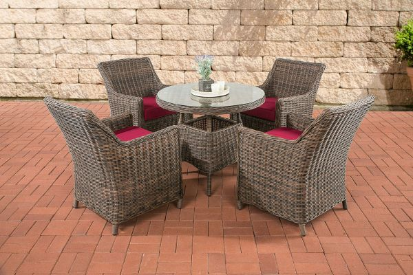 Tuinset Wicker TORTOSA