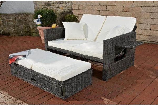 Loungebank Wicker ANCONA 3mm