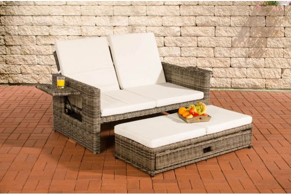 Wicker Loungebank ANCONA 5mm